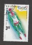 Stamps : Europe : Bulgaria :  Juegos olimpicos de invierno Lillihammer, Noruega