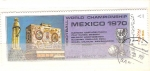 Sellos de America - México -  campeonato mundial de futbol RESERVADO