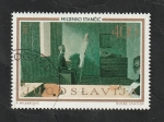 Sellos del Mundo : Europa : Yugoslavia : 1413 - Pintura de Miljenko Stancic