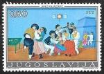 Sellos del Mundo : Europa : Yugoslavia : 1454 - Pintura de Jano Knjazovic