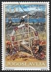 Sellos del Mundo : Europa : Yugoslavia : 1514 - Obra de Lazar Licenoski