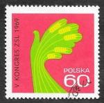de Europa - Polonia -  1645 - V Congreso del Partido Campesino Unido