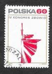 de Europa - Polonia -  1983 - IV Congreso de la Unión de Luchadores por la Libertad y la Democracia