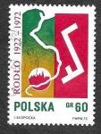 Sellos de Europa - Polonia -  1886 - L Aniversario de la Sociedad de Inmigrantes de Polonia en Alemania