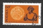 Sellos del Mundo : Europa : Polonia : 1916 - Nicolás Copernico