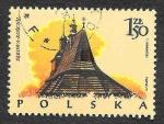 Stamps Poland -  2024 - Iglesia en Sękowa