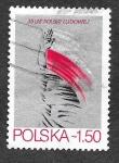 Sellos de Europa - Polonia -  2349 - 35 Años de la República Popular de Polonia.