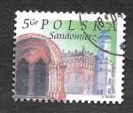 Sellos del Mundo : Europa : Polonia : 3709 - Monumentos de Ciudades
