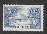 Stamps France -  129 - Pueblo de Guinea (COLONIA FRANCESA)