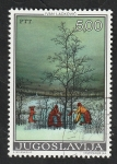 Sellos del Mundo : Europa : Yugoslavia : 1456 - Pintura de Ivan Lackovic