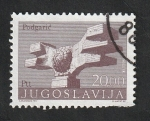 Sellos del Mundo : Europa : Yugoslavia : 1427 - Monumento de la Revolución