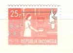 Sellos de Asia - Indonesia -  pelita