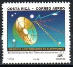 Sellos de America - Costa Rica -  30th  ANIVERSARIO  DEL  INSTITUTO  DE  TELECOMUNICACIONES