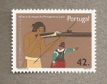 Sellos de Europa - Portugal -  450 A�os llegada portugueses al Jap�n