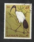 sello : Asia : Emiratos_Árabes_Unidos : Ajman - 54 - Aves