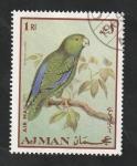 sello : Asia : Emiratos_Árabes_Unidos : Ajman - 54 - Ave