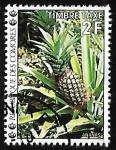 Sellos del Mundo : Africa : Comores : Frutas - Piña