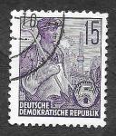Stamps Germany -  162 - Trabajador del Acero