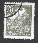 Stamps Germany -  163 - Bad Elster