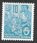 Stamps Germany -  227 - Maquinista