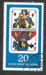 Stamps Germany -  943 - Naipes Alemanes