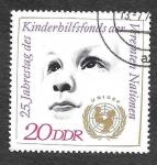 Stamps Germany -  1315 - XXV Aniversario de UNICEF