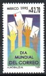de America - México -  DÍA  MUNDIAL  DEL  CORREO