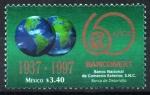 de America - México -  60th  ANIVERSARIO  DEL  BANCO  NACIONAL  DEL  COMERCIO  EXTERIOR