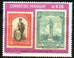 Sellos de America - Paraguay -  CENTENARIO  DE  LA  EPOPEYA  NACIONAL  (1970)