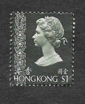 Stamps Hong Kong -  283 - Isabel II (Reino Unido)