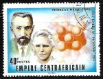 Sellos del Mundo : Africa : Rep_Centroafricana : Pierre and Marie Curie