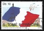 Sellos del Mundo : Africa : Santo_Tomé_y_Principe : Bicentenario de la Revolucin Francesa