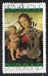 Sellos del Mundo : Africa : Burundi : Pintura - P. Perugino : Madonna and Child