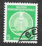 Stamps Germany -  O1 - Escudo