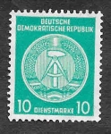 Stamps Germany -  04 - Escudo