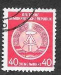 Sellos de Europa - Alemania -  O12 - Escudo