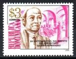 Sellos de America - Rep Dominicana -  BICENTENARIO  DEL  NACIMIENTO  DE  GASPAR  HERNÁNDEZ  (1798-18589)