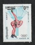 Stamps : Asia : Cambodia :  Kampuchea - 449 - Olimpiadas de invierno en Sarajevo