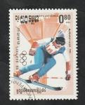 Stamps : Asia : Cambodia :  Kampuchea - 451 - Olimpiadas de invierno en Sarajevo