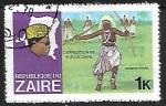 Sellos de Africa - República del Congo -  L`expedition de Fleure Zaire - Folclore