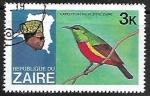 Sellos del Mundo : Africa : República_del_Congo : L`expedition de Fleure Zaire - Regal Sunbird