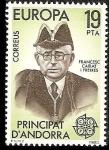 Stamps Andorra -  Europa - Primer Síndico de Andorra