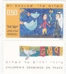 Stamps : Asia : Israel :  DIBUJOS DE NIÑOS SOBRE LA PAZ