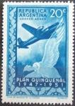 Stamps : America : Argentina :  Alturas-Argentina 1951