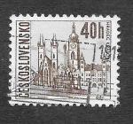Sellos de Europa - Checoslovaquia -  1348A - Hradec Králové