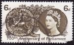 Stamps United Kingdom -  700 aniversario del parlamento