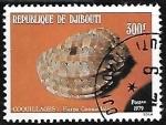 Sellos del Mundo : Africa : Djibouti : Caracol marino