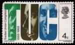 Stamps United Kingdom -  Centenario del sindicato de trabajadores