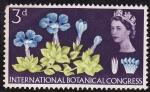 Sellos de Europa - Reino Unido -  Congreso Internacional de Botánica