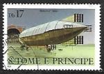 Sellos del Mundo : Africa : Santo_Tomé_y_Principe : Dirigibles - Mayfly, 1910